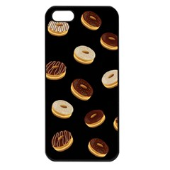Donuts Apple Iphone 5 Seamless Case (black) by Valentinaart
