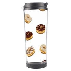 Donuts Pattern Travel Tumbler by Valentinaart