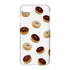 Donuts Pattern Apple Iphone 7 Hardshell Case by Valentinaart