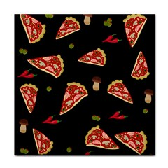 Pizza Slice Patter Tile Coasters by Valentinaart