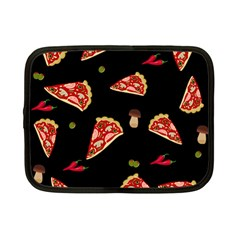 Pizza Slice Patter Netbook Case (small)  by Valentinaart