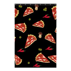Pizza Slice Patter Shower Curtain 48  X 72  (small)  by Valentinaart
