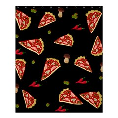 Pizza Slice Patter Shower Curtain 60  X 72  (medium)  by Valentinaart