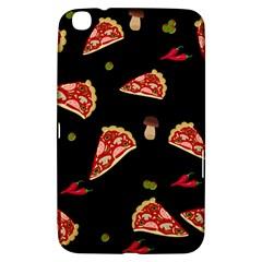 Pizza Slice Patter Samsung Galaxy Tab 3 (8 ) T3100 Hardshell Case  by Valentinaart