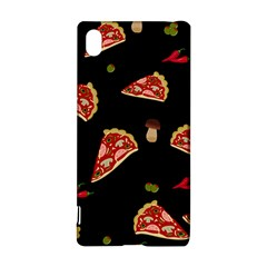 Pizza Slice Patter Sony Xperia Z3+ by Valentinaart