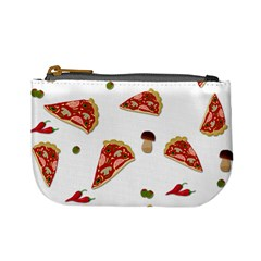 Pizza Pattern Mini Coin Purses by Valentinaart