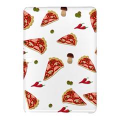 Pizza Pattern Samsung Galaxy Tab Pro 12 2 Hardshell Case by Valentinaart