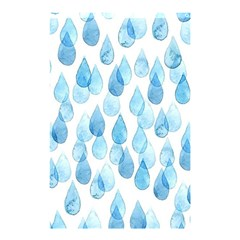 Rain Drops Shower Curtain 48  X 72  (small)  by Brittlevirginclothing