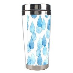 Rain Drops Stainless Steel Travel Tumblers by Brittlevirginclothing