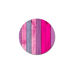Pink Wood Golf Ball Marker (4 Pack) by Brittlevirginclothing