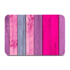 Pink Wood Plate Mats by Brittlevirginclothing