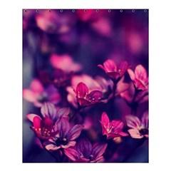 Blurry Flowers Shower Curtain 60  X 72  (medium)  by Brittlevirginclothing