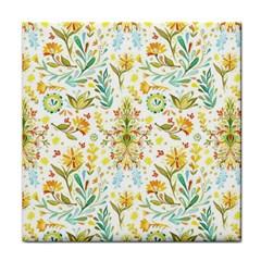 Vintage Pastel Tile Coasters by Brittlevirginclothing