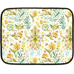 Vintage Pastel Fleece Blanket (mini) by Brittlevirginclothing