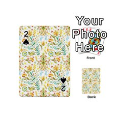 Vintage Pastel Playing Cards 54 (mini)  by Brittlevirginclothing