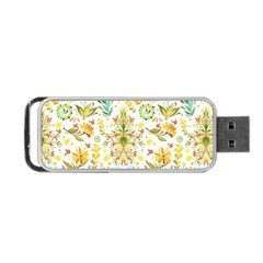 Vintage Pastel Portable Usb Flash (two Sides) by Brittlevirginclothing