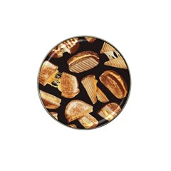 Delicious Snacks Hat Clip Ball Marker (4 Pack) by Brittlevirginclothing
