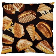 Delicious Snacks Standard Flano Cushion Case (two Sides) by Brittlevirginclothing