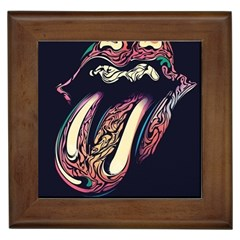 The Rolling Stones  Framed Tiles by Brittlevirginclothing