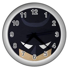 Batman Wall Clocks (silver)  by Brittlevirginclothing