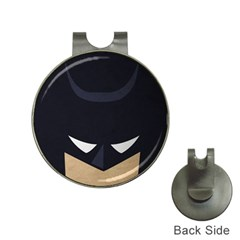 Batman Hat Clips With Golf Markers by Brittlevirginclothing