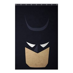 Batman Shower Curtain 48  X 72  (small)  by Brittlevirginclothing