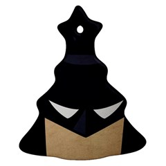 Batman Christmas Tree Ornament (two Sides) by Brittlevirginclothing