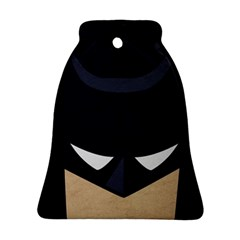Batman Bell Ornament (two Sides) by Brittlevirginclothing