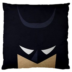 Batman Large Flano Cushion Case (two Sides) by Brittlevirginclothing