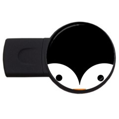 Cute Pinguin Usb Flash Drive Round (4 Gb) by Brittlevirginclothing