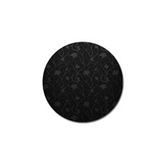 Dark Silvered Flower Golf Ball Marker by Brittlevirginclothing