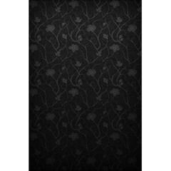 Dark Silvered Flower 5 5  X 8 5  Notebooks by Brittlevirginclothing