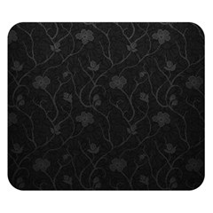 Dark Silvered Flower Double Sided Flano Blanket (small)  by Brittlevirginclothing