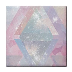 Pastel Crystal Tile Coasters by Brittlevirginclothing