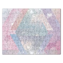 Pastel Crystal Rectangular Jigsaw Puzzl by Brittlevirginclothing