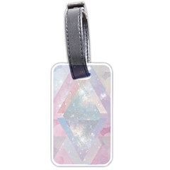 Pastel Crystal Luggage Tags (two Sides) by Brittlevirginclothing