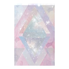 Pastel Crystal Shower Curtain 48  X 72  (small)  by Brittlevirginclothing