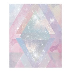 Pastel Crystal Shower Curtain 60  X 72  (medium)  by Brittlevirginclothing