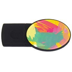 Paint Brush Usb Flash Drive Oval (2 Gb) by Brittlevirginclothing