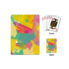 Paint Brush Playing Cards (mini)  by Brittlevirginclothing