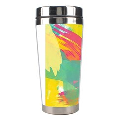 Paint Brush Stainless Steel Travel Tumblers by Brittlevirginclothing