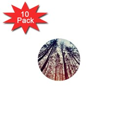 Up View Forest 1  Mini Magnet (10 Pack)  by Brittlevirginclothing