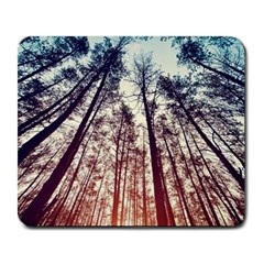 Up View Forest Large Mousepads by Brittlevirginclothing