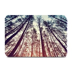 Up View Forest Plate Mats by Brittlevirginclothing