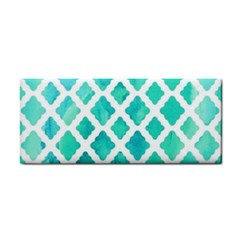Blue Mosaic Hand Towel by Brittlevirginclothing