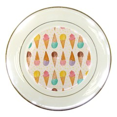 Cute Ice Cream Porcelain Plates by Brittlevirginclothing