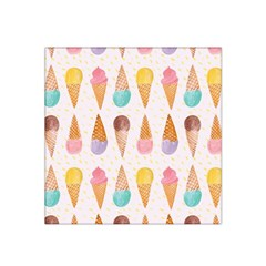 Cute Ice Cream Satin Bandana Scarf by Brittlevirginclothing