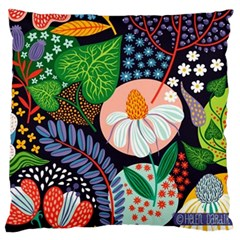 Japanese Inspired Standard Flano Cushion Case (one Side) by Brittlevirginclothing