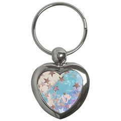Pastel Stars Key Chains (heart)  by Brittlevirginclothing