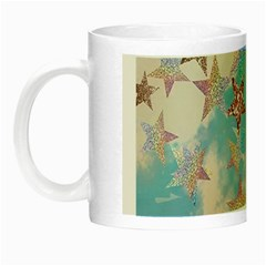 Pastel Stars Night Luminous Mugs by Brittlevirginclothing